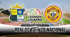 Nhận định Real SC vs CD Nacional 22h00, 21/03: Thanh toán sòng phẳng