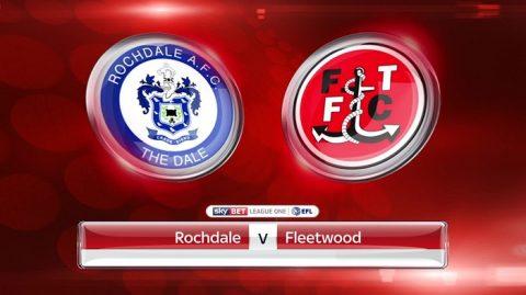 Nhận định Rochdale vs Fleetwood, 02h45 ngày 21/3: Cùng đường vùng lên