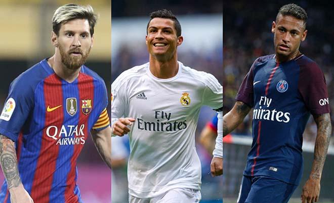 Ronaldo = Messi + Neymar