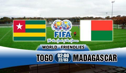"""Nhận định Togo vs Madagascar, 02h00 ngày 22/3: Uy lực của """"làn gió mới"""""""