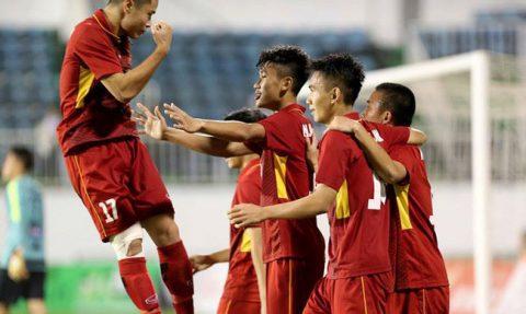 U19 Việt Nam vô địch giải Quốc tế với thành tích toàn thắng