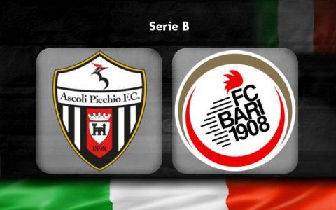 Nhận định Ascoli vs Bari, 01h30 ngày 29/3: Phong độ đang lên