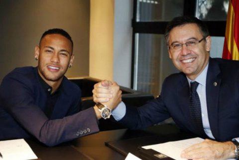 """Barca một mực phủ nhận việc """"tái hợp"""" với Neymar"""
