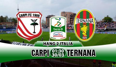 Nhận định Carpi vs Ternana, 01h30 ngày 30/03:  Quyết tâm bám trụ