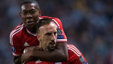 Ribery – Alaba, định mệnh cho ta gặp nhau!