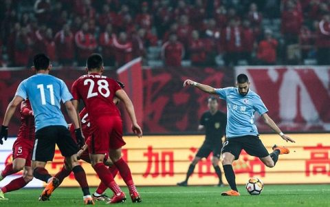 Carrasco đến Trung Quốc vì… World Cup 2018