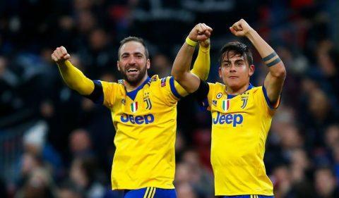 """Higuain và Dybala tỏa sáng, """"Lão bà"""" ngược dòng đánh bại Tottenham"""