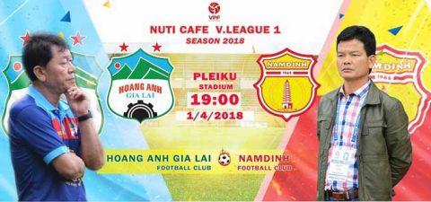 Nhận định HAGL vs Nam Định, 19h00 ngày 1/4: Thành Nam khát thắng