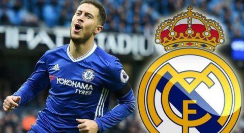 Eden Hazard vẫn đang mơ về Real Madrid
