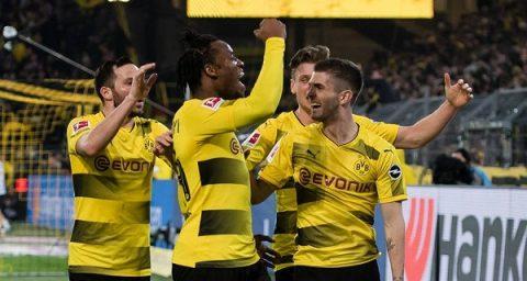 Batshuayi lập cú đúp bàn thắng, Dortmund leo lên vị trí thứ 3