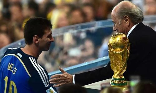 Messi đánh cược vào WC 2018