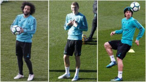 Kroos, Modric và Marcelo đã bình phục, trời cũng giúp Real