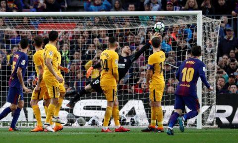 Messi ghi bàn thứ 600, Barca cho Atletico ngửi khói