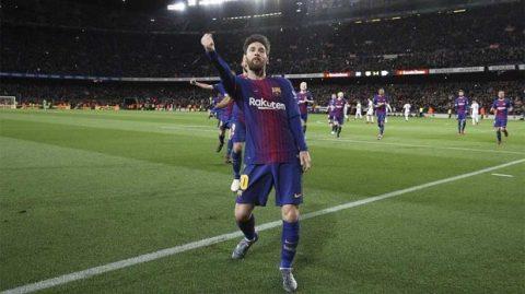 Lionel Messi, hung thần trước khung thành Atletico Madrid