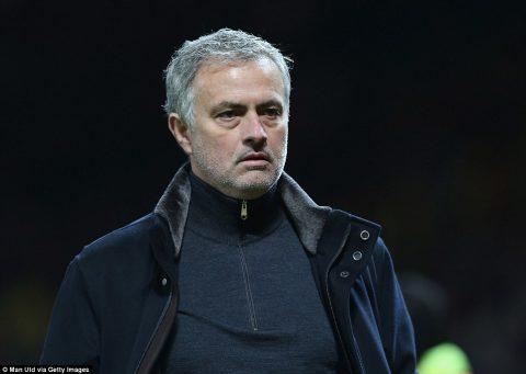 Jose Mourinho không bất ngờ khi MU bị loại khỏi Champions League