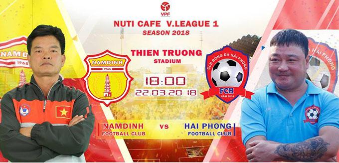 Nhận định Nam Định vs Hải Phòng, 18h00 ngày 22/3:  Thiên Trường cuồng nhiệt