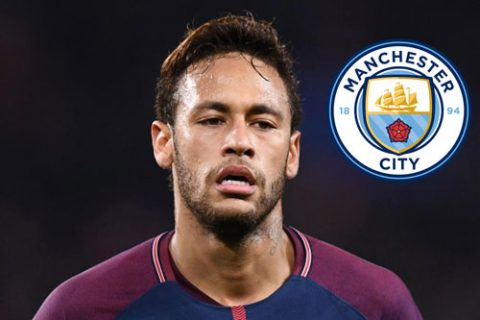 """Man City gây sốc với tham vọng """"nổ bom tấn"""" Neymar"""