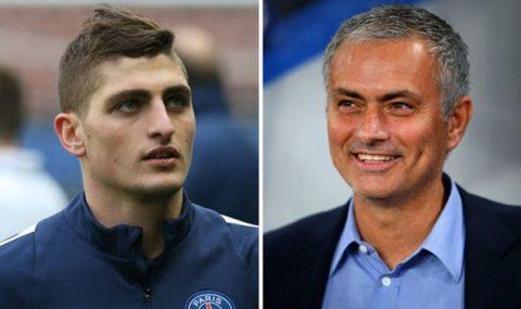 Chán ngấy Pogba, Mourinho tính đổi lấy Marco Verratti?