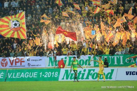 Khai màn V-League 2018 và những con số ấn tượng