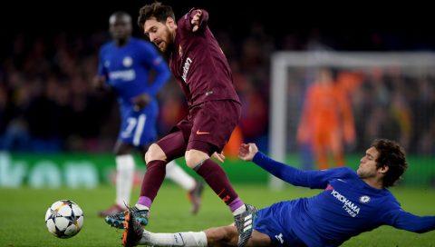 Chelsea bị Barca loại khỏi Champions League: Đen thôi, đỏ quên đi!
