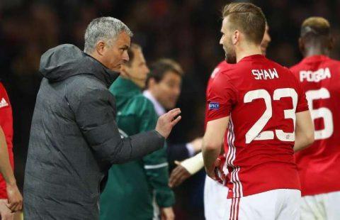 Chelsea muốn cởi trói cho Luke Shaw khỏi Old Trafford và Mourinho