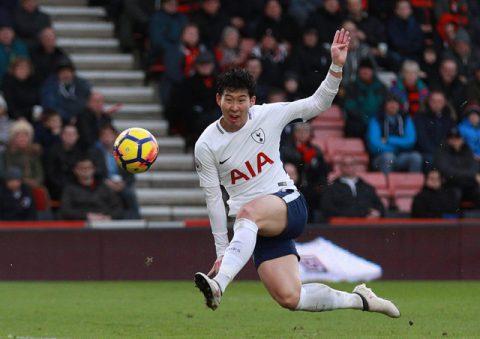 Son Heung-min chói sáng, Tottenham vùi dập Bournemouth