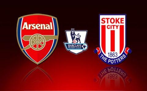 Nhận định Arsenal vs Stoke, 19h30 ngày 01/04: Pháo thủ thông nòng