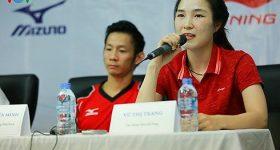 """Vợ chồng Tiến Minh – Vũ Thị Trang bị """"văng"""" ra khỏi top 50 thế giới"""