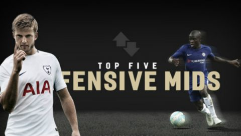 Điểm mặt 5 tiền vệ phòng ngự xuất sắc nhất Ngoại hạng Anh 2017/18