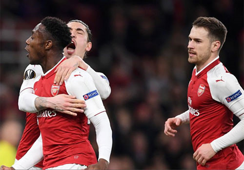 Arsenal tránh được Atletico ở tứ kết Europa League