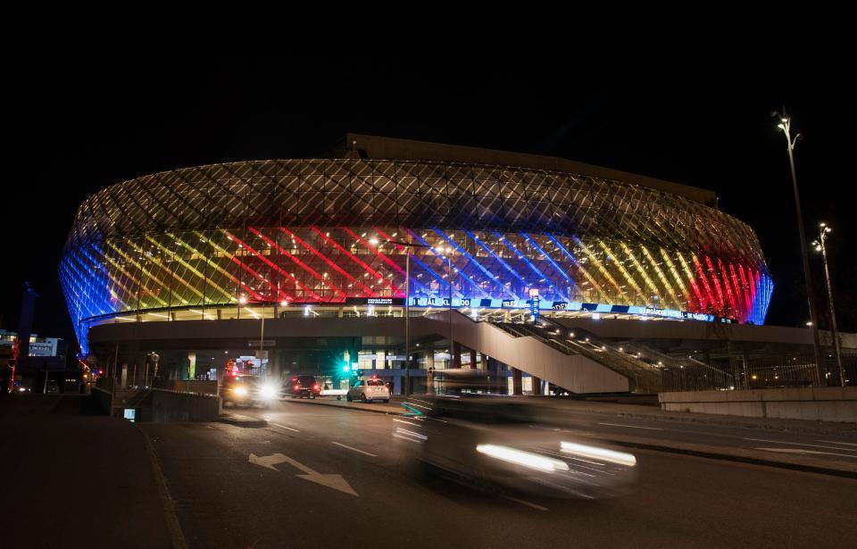 SVĐ Stockholm's Tele2 Arena (Stockholm )