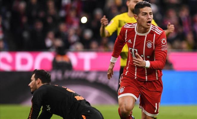 Bayern 'chốt hạ' tương lai James Rodriguez