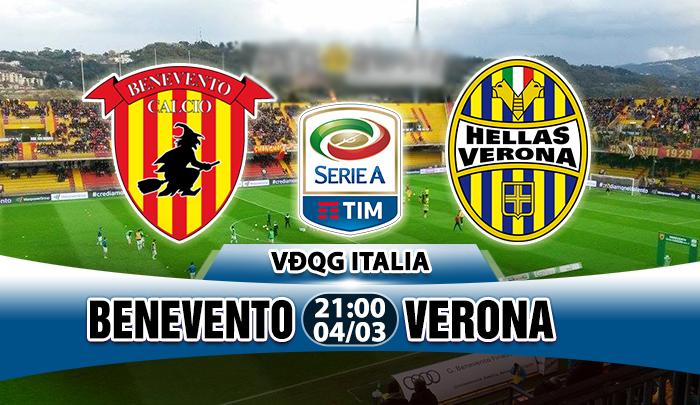 Nhận định Benevento vs Verona 22h00, 04/04: Níu giữ cơ hội