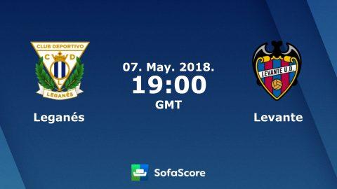 Nhận định Leganes vs Levante, 2h00 ngày 08/05: Tiếp tục vươn lên