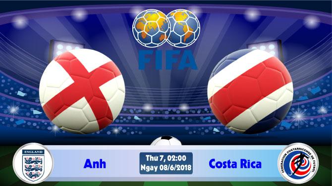 Nhận định bóng đá Anh vs Costa Rica, 2h00 ngày 08/06: Tổng duyệt