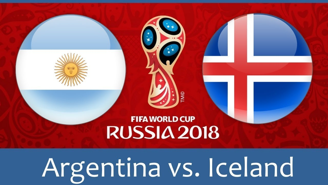 Nhận định Argentina vs Iceland, 20h00 ngày 16/6: Chờ Messi Aguero?