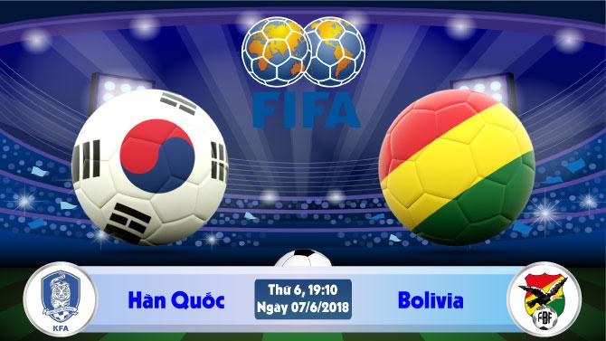 Nhận định bóng đá Hàn Quốc vs Bolivia, 19h10 ngày 07/06: Củng cố tinh thần