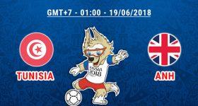 Nhận định Tunisia vs Anh, 01h00 ngày 19/6: Ăn chắc mặc bền