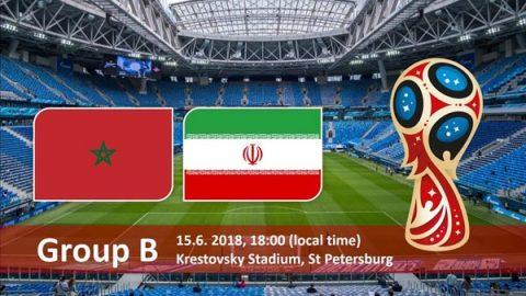 Nhận định Ma Rốc vs Iran, 22h00 ngày 15/6: Khai màn bảng B