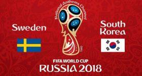 Nhận định Thụy Điển vs Hàn Quốc, 19h00 ngày 18/6: Bước đà