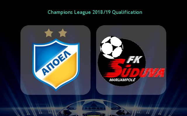 Nhận định APOEL vs Suduva, 00h00 ngày 18/7: Khó lội ngược dòng
