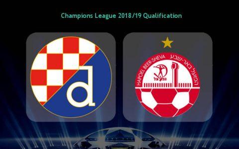 Nhận định Dinamo Zagreb vs Beer Sheva, 01h00 ngày 25/7: UEFA Champions League