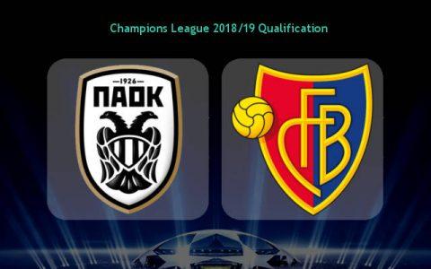 Nhận định PAOK vs Basel, 0h30 ngày 25/7: Vòng sơ loại 2 Champions League