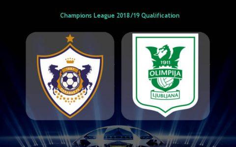 Nhận định Qarabag vs Olimpija, 0h00 ngày 19/7: Vé trong tay Qarabag