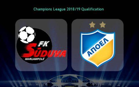 Nhận định Suduva vs APOEL, 23h00 ngày 11/7: Ghi dấu lần đầu