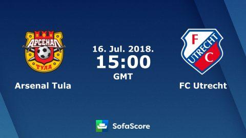Nhận định Arsenal Tula vs Utrecht, 22h00 ngày 16/07: Chiến thắng cho Utrecht