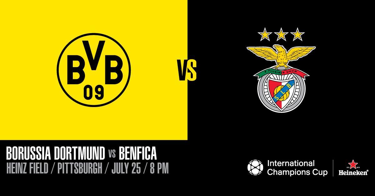 Nhận định Dortmund vs Benfica, 07h00 ngày 26/7: ICC Cup