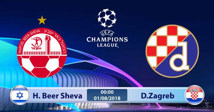 Nhận định Hapoel Beer Sheva vs Dinamo Zagreb, 01h00 ngày 1/8: Champions League