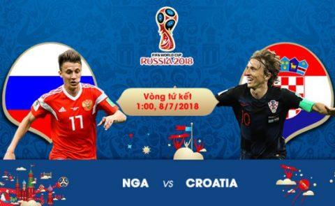 Nhận định Nga vs Croatia, 01h00 ngày 08/7: Dấu hỏi đấu pháp