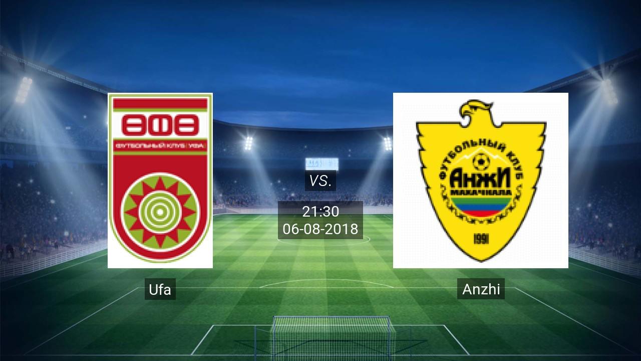 Nhận định Ufa vs Anzhi, 21h30 ngày 6/8: Giải VĐQG Nga